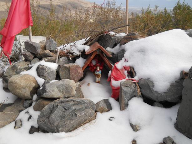 Santuario al gauchito gil en tafi del valle