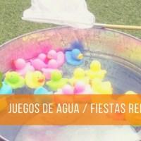 Juegos de agua refrescantes para pasar un verano divertido.