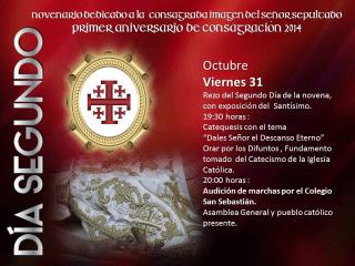 novenario a jesus sepultado de la recolección 2