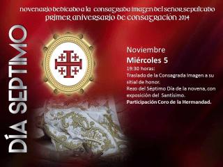 novenario a jesus sepultado de la recolección 7
