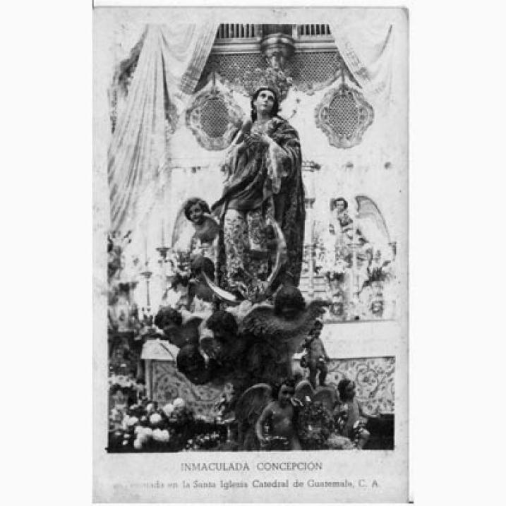 Turno del Tradicional Rezo de la Inmaculada Concepción de Catedral Metropolitana. Foto por Luis Pedro Villagrán