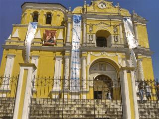 Parroquia de Escuintla. Foto: Eddy Roldán.