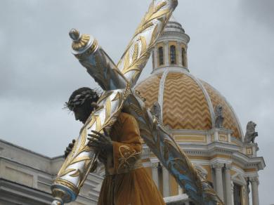 Jesus Nazareno de la Justicia, Parroquia del Calvario