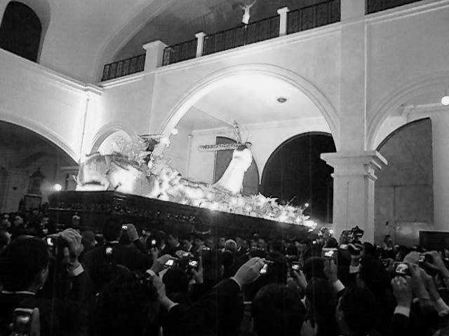 Entrada de la Procesión de Jesús de los Milagros