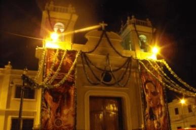 Parroquia de Candelaria en Jueves Santo
