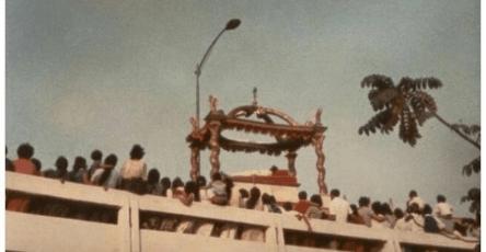 Fotografías del Baldaquino del Cristo Yacente de el Calvario. Foto compartida por Israel Santos 1