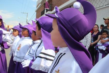 Turnos para procesiones infantiles 2020 en Ciudad Guatemala