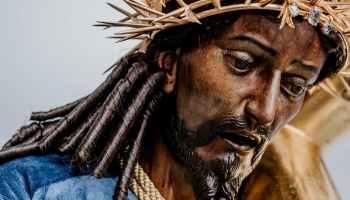 historia de jesús nazareno de candelaria el cristo rey de Guatemala