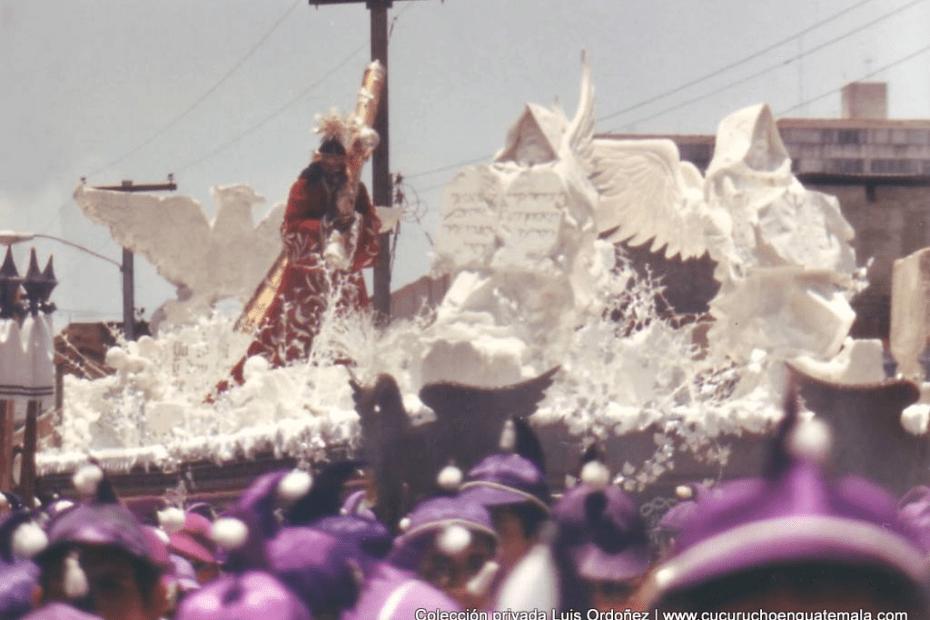 Jesús de Candelaria en Jueves Santo de 1987