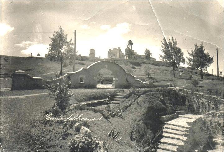 Cerrito del Carmen desde la plaza México 1935