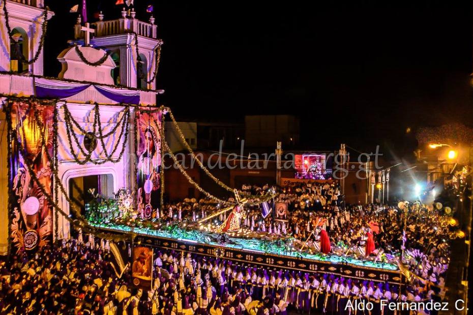 Entrada procesión Cristo Rey Jesus de Candelaria (3)
