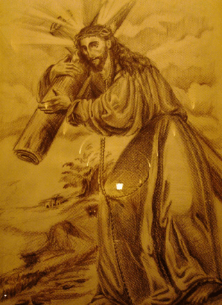 Oleo Jesús de la Merced siglo XXI