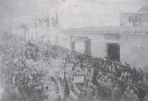 Procesión Jesus de la Merced 15 abril 1892
