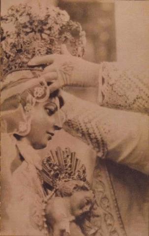 Procesiones de la Virgen del Rosario Foto. Santo Domingo ayer, hoy y siempre