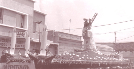 Jesús de Candelaria. Fotos colección de Luis Ordóñez