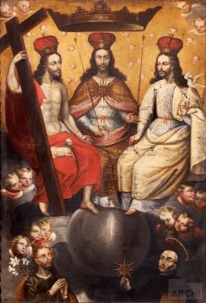 Lienzo de la Santisima Trinidad (2)