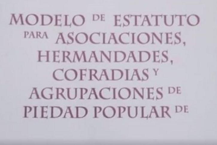 Estatutos para las hermandades