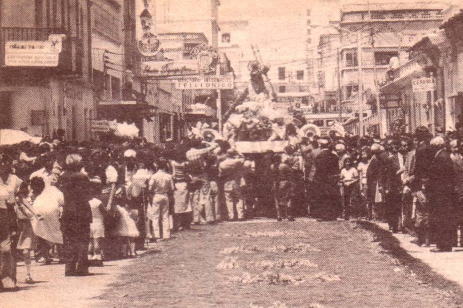procesiones de rogativa de Jesus de la Merced