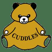 Cuddles Bear Logo