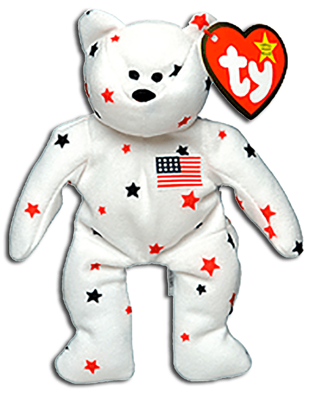 Cuddly Collectibles TY Patriotic Stuffed Animals