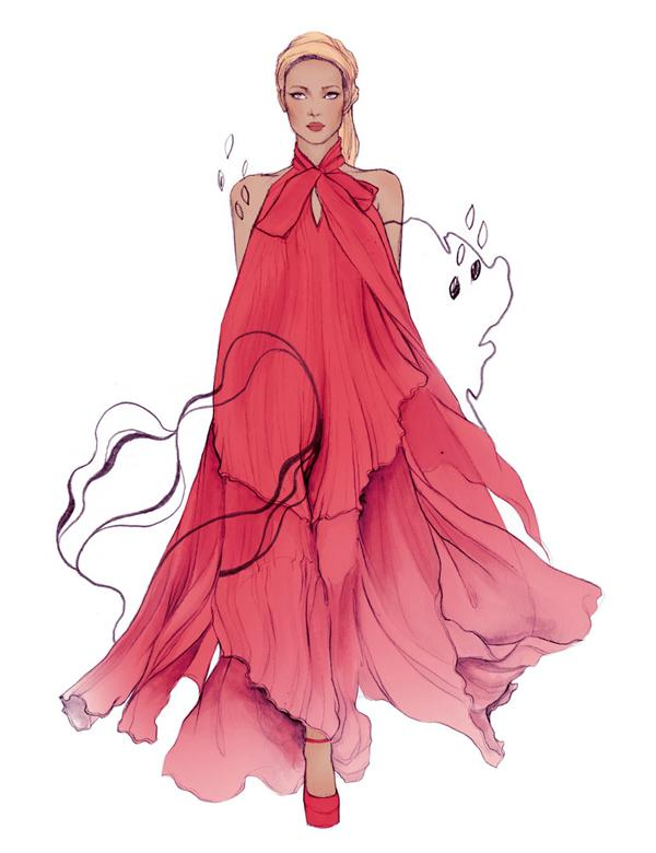50 Beautiful Fashion Illustrations   Art and Design Fashion Illustration by Soleil Ignacio   50 Beautiful Fashion Illustrations   3  3