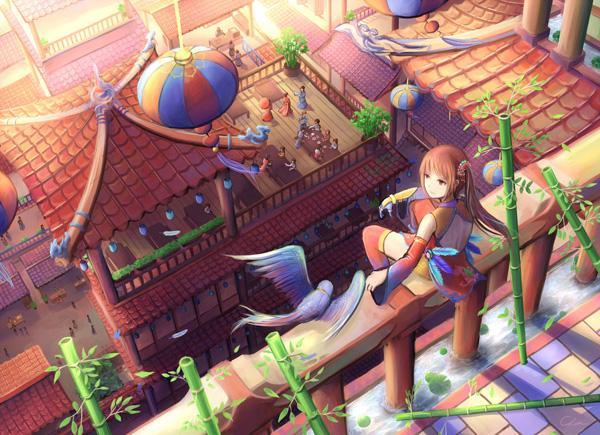 Phoenix of the Orient - 50 Examples of Anime Digital Art <3 !