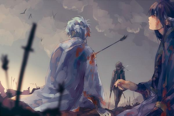 Gintama – Daybreak - 50 Examples of Anime Digital Art <3 !