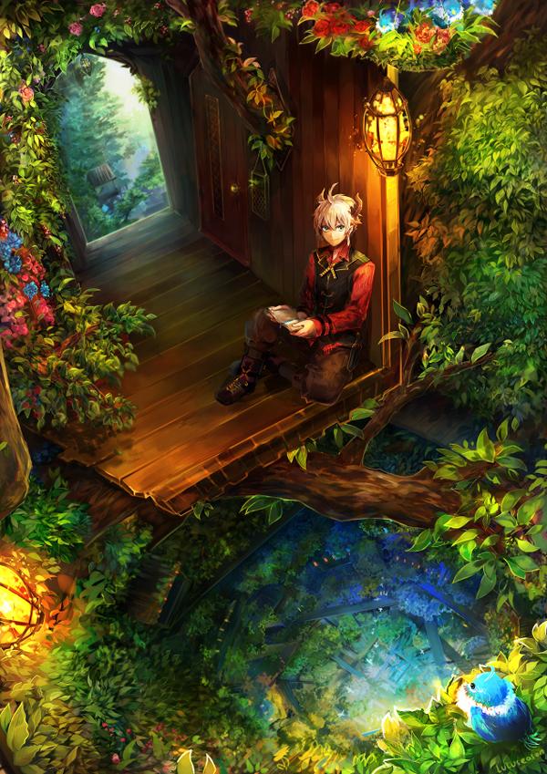 Pixiv Fantasia NW: Levon's Home - 50 Examples of Anime Digital Art <3 !