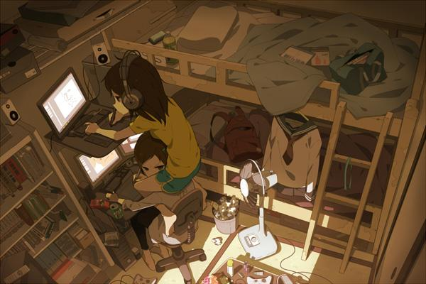 sister - 50 Examples of Anime Digital Art <3 !