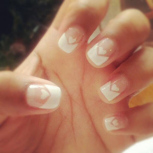 French Tip Mani Designs
