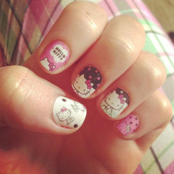 If You Like Authentic Looking O Kitty Prints On Your Nail Then This One Is Just