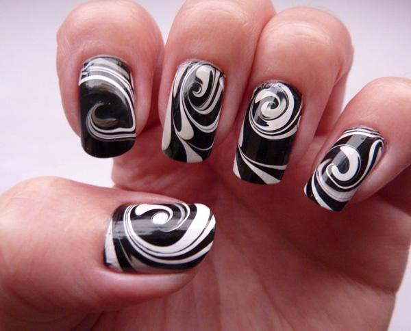 Easy Water Marble Nail Art How You Can Do It At Home Pictures Designs For The