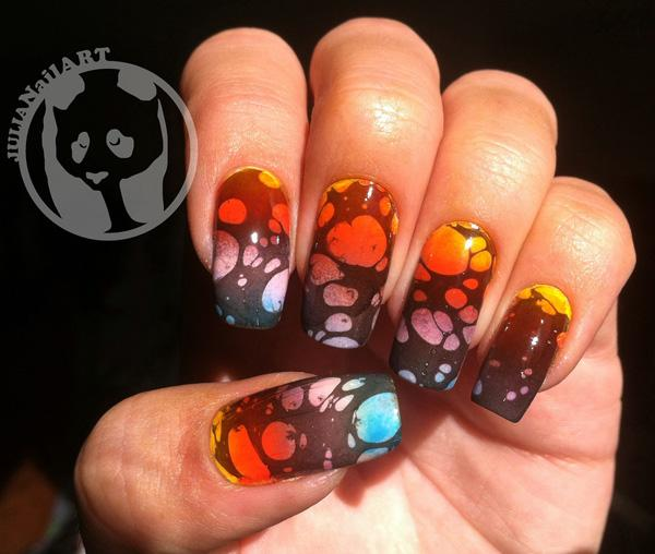 Image Led Create A Marble Nail Effect Using Water Step 11