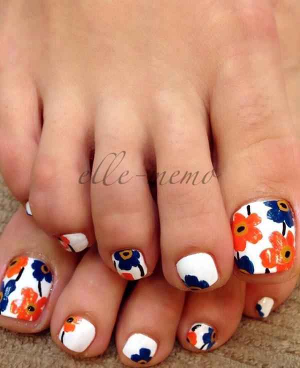 Beautiful Matte Toe Nail Designs