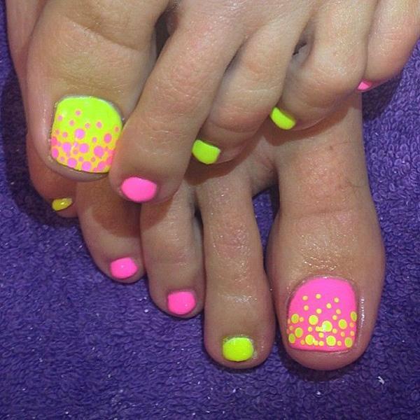 Cute Toe Nail Art 1