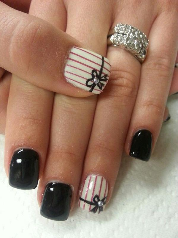 40 Black Nail Art Ideas And Design How To Do