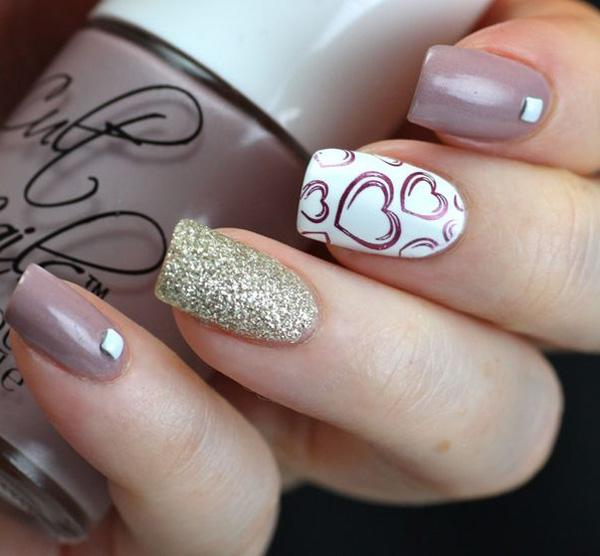 Easy Pink And Purple Nail Art Cute Designs Ideas About