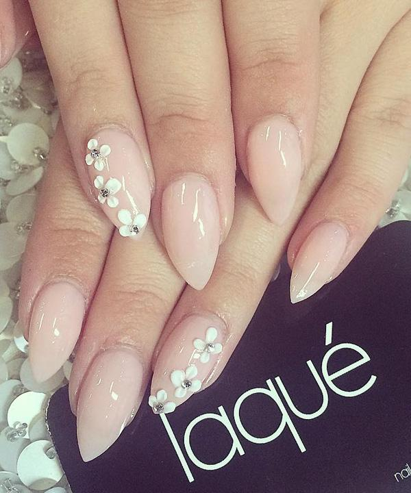Pretty Nail Art Design A Rather Simple Looking That Gives Off Sophisticated