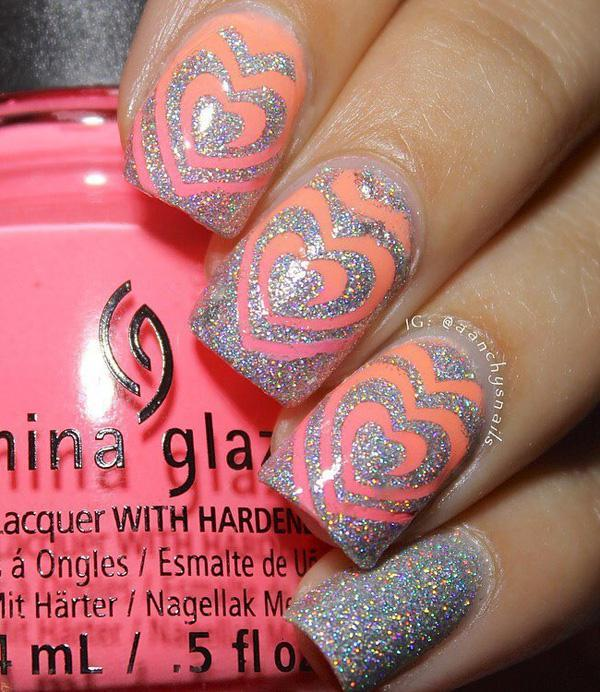17 Best Ideas About Easy Nail Polish Designs On Valentine Nails S Day And Art