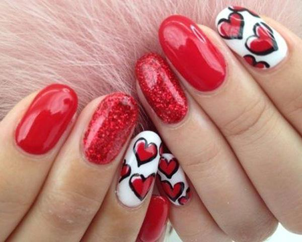 Lovely 2 Color Nail Polish Designs 16 Follows Inspiration Article