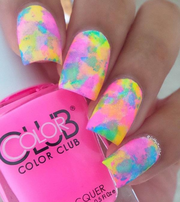 Take Out Your Nail Polish Colors Of Choice You Can Go With Lighter And