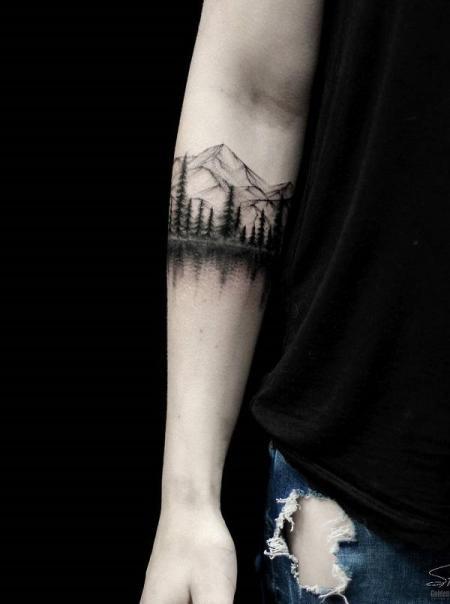 landscape tattoo ideas