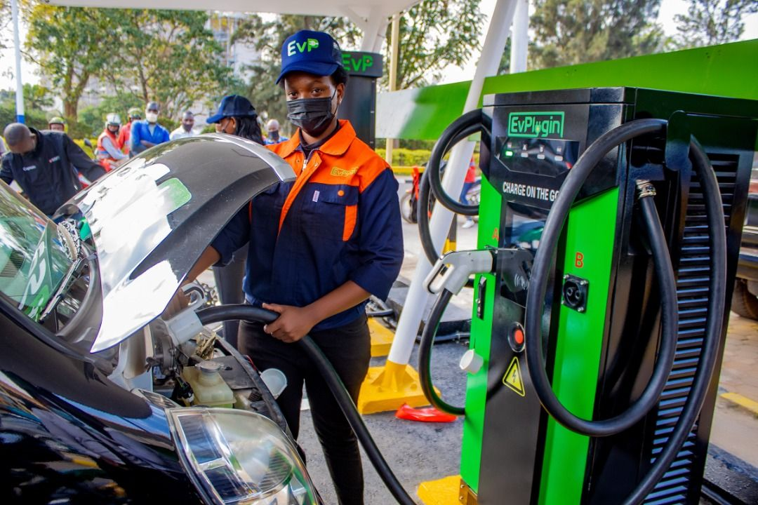 EV Plugin Launches Its first public and multi EV charging station project In Kigali –Rwanda.