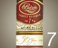 No. 7 Padron Family Reserve 50 Years Maduro