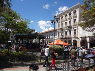 Cuenca receives high marks for public spaces.