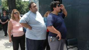 Argentinian men top the scales for South Americans.