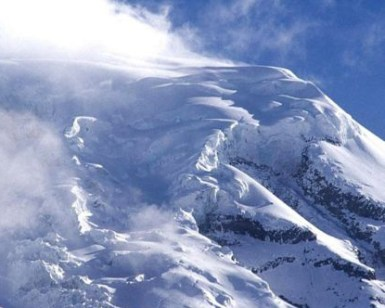 Mt. Chimborazo is known for its avalanches.