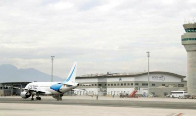 Air traffic is being rerouted from Quito to Cuenca and Guayaquil.