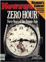Newsweek used Ives' cover shot for the Hiroshima anniversary, but not his photo essay.