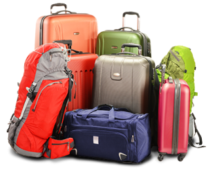 Can fit your belongings into suitcases?
